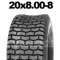 20x8.00-8 MOWER TYRE FOR RIDE ON LAWN MOWERS
